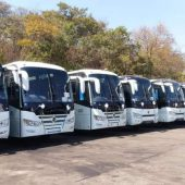 NEW BUSES ON BOARD
