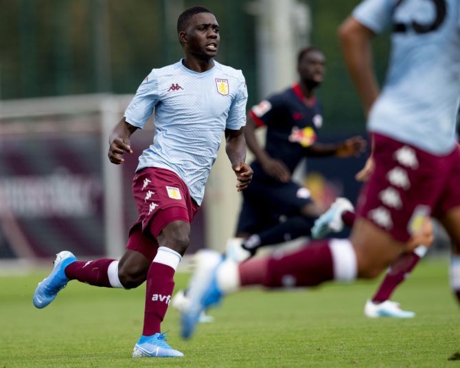 Why Nakamba hasn't featured for Villa in two games?