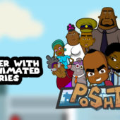 Poshto, the original animated show from Zimbabwe announced!